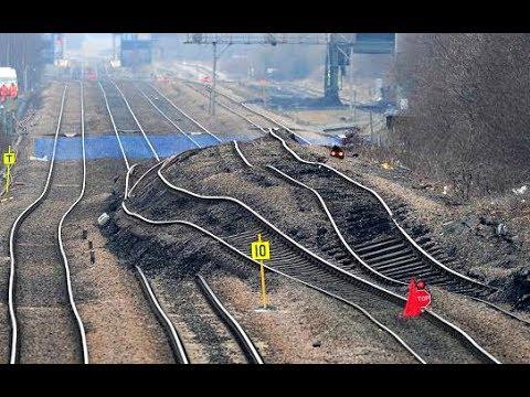World's Worst Railroad Track Compilation